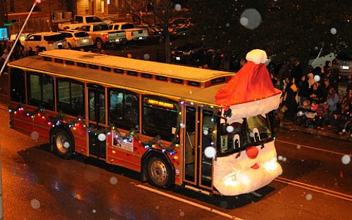 Stuff the Bus & Christmas Parade